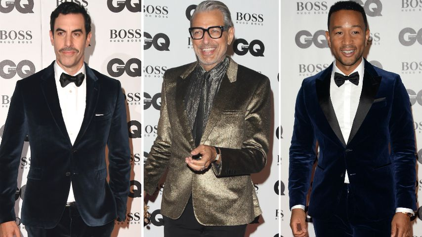 Samt, Gold & Co.: Die Outfits der Männer bei den GQ Awards!