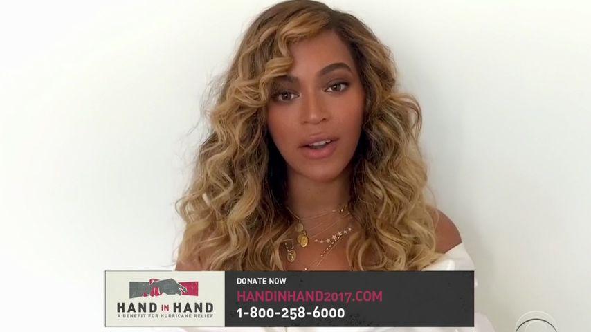 Mega-Star Beyoncé: Bewegende Rede für Hurrikan-Opfer!
