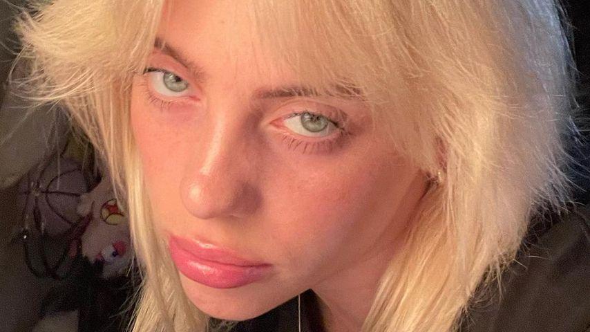 Nach Entschuldigung: Billie Eilish postet ein neues Selfie
