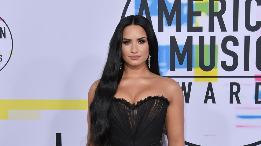 Sängerin Demi Lovato bei den American Music Awards 2017 in Los Angeles
