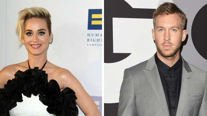 Feindschaft ade: Katy und Calvin machen nun zusammen Musik