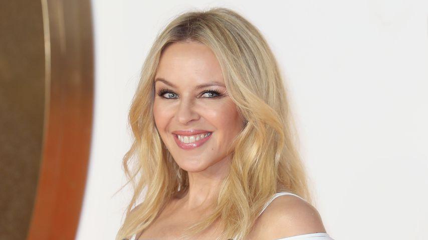 Sängerin Kylie Minogue bei einer Premiere in London