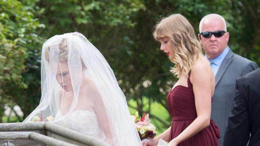 Taylor Swift als Bridesmaid: Ihre BFF hat geheiratet!