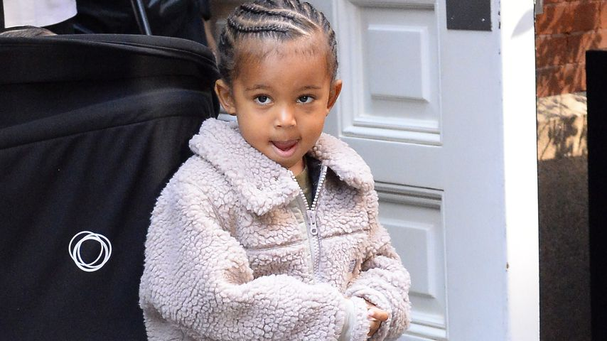Sündiger Saint (3): Hat Kim Kardashians Sohn Kind bespuckt?