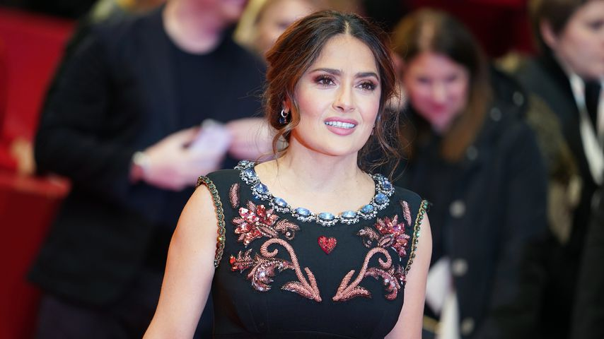 Salma Hayek, 2020 in Berlin