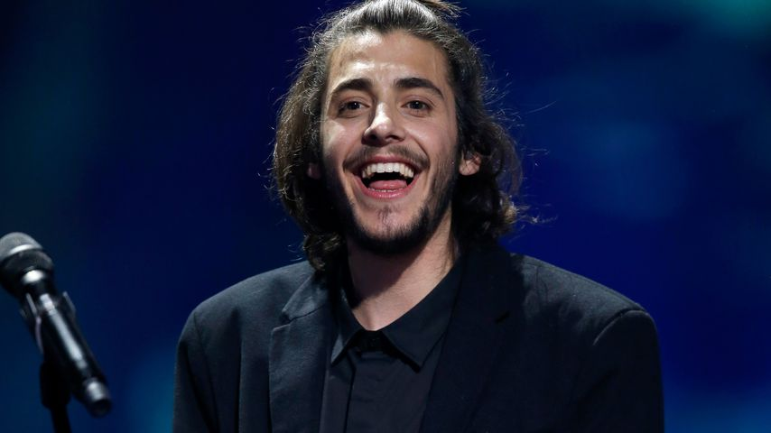Salvador Sobral beim Eurovision Song Contest