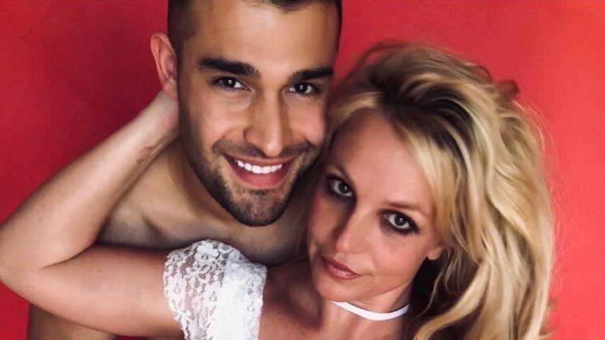 Sam Asghari und Britney Spears im März 2020