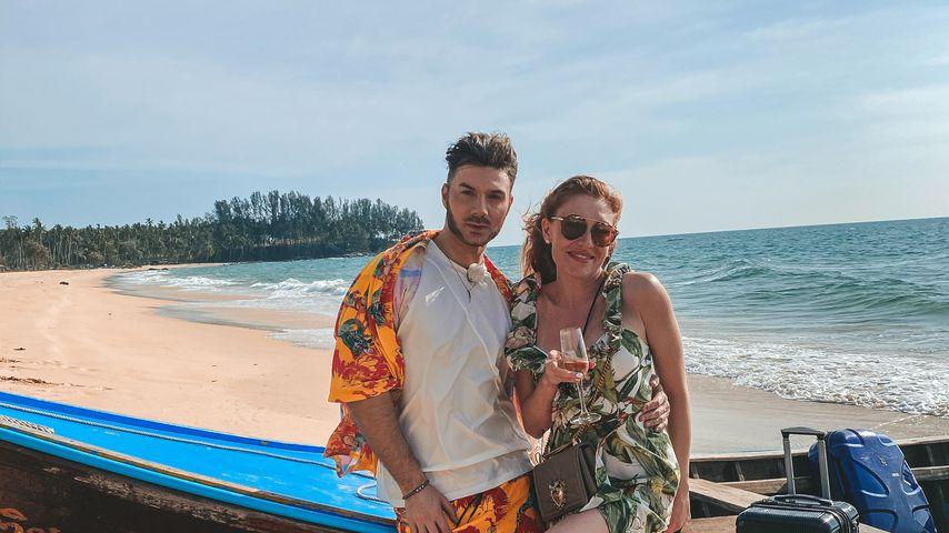 """Sam Dylan und Georgina Fleur, """"Kampf der Realitystars""""-Kandidaten"""