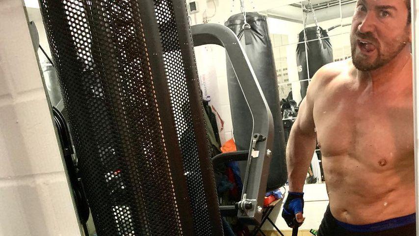 Sam Eisenstein beim Training