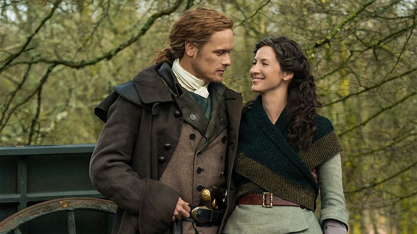 "Sam Heughan und Caitriona Balfe in ""Outlander"""