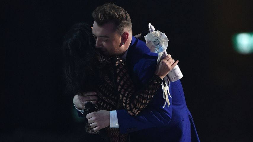 Kim Kardashian und Sam Smith