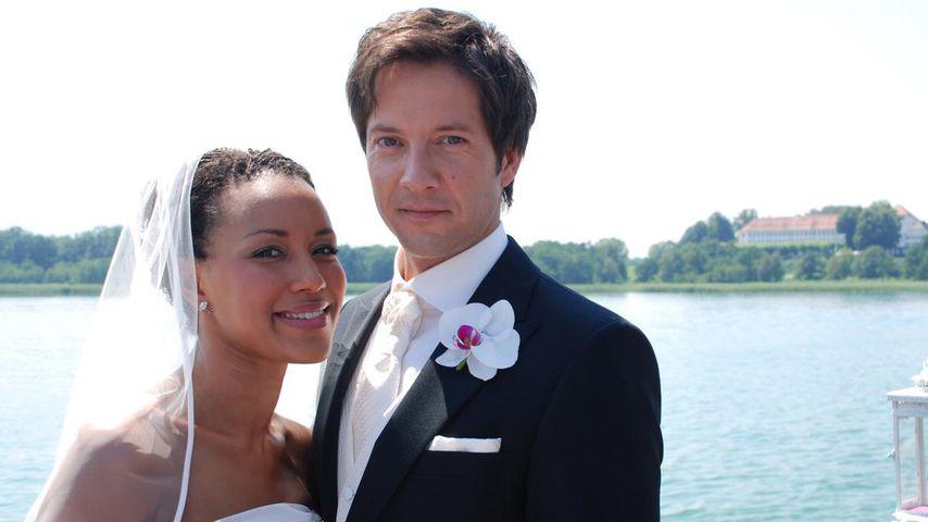 """Samia (Dominique Siassia) und Gregor (Christof Arnold), """"Sturm der Liebe""""-Paar Staffel 3"""