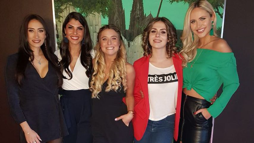 Samira, Yeliz, Janina Celine, Janine Christin und Lina, Bachelor-Kandidatinnen 2018