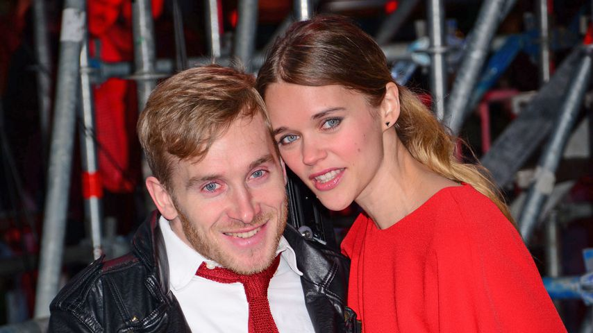 """Samuel Koch und Sarah Elena bei der Premiere von """"Zoolander 2"""" in Berlin"""