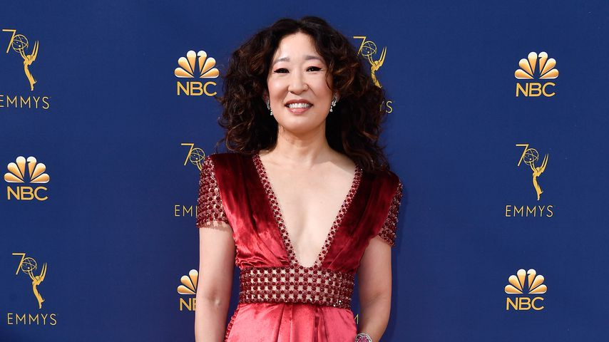 Sandra Oh bei den 70. Emmy Awards
