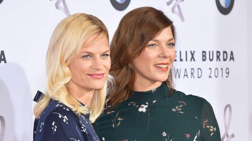 Sandra und Jessica Schwarz bei den Felix Burda Awards 2019