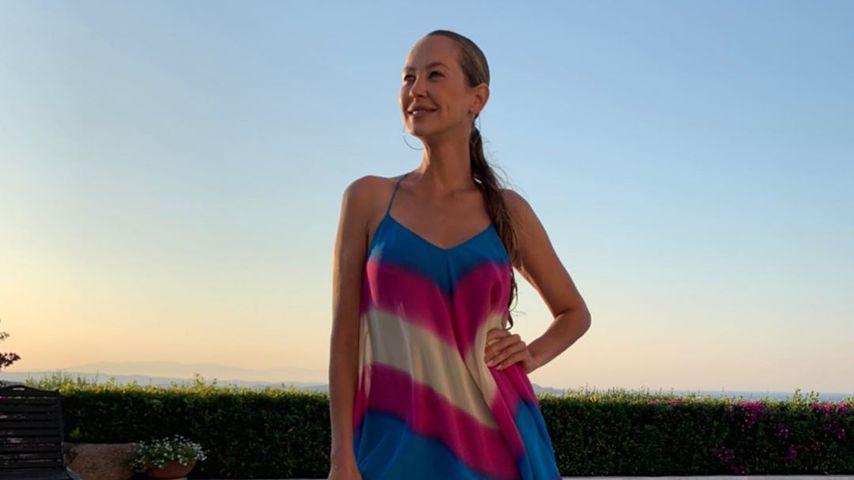 Sandy Meyer-Wölden in Porto Cervo im Juli 2020