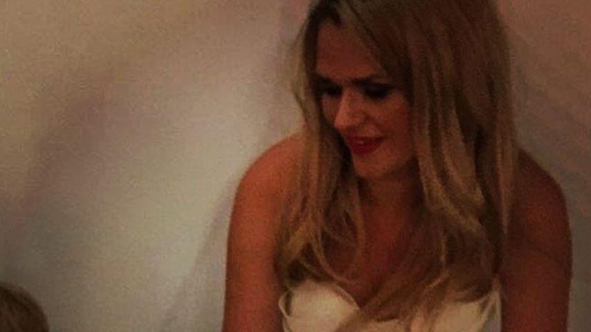 Sara Kulka an ihrer Hochzeit