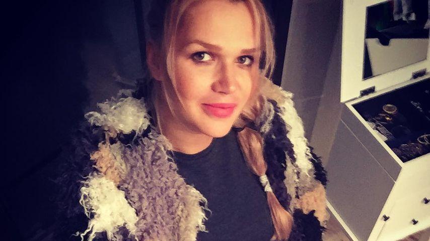 1 Woche bis zur Geburt: GNTM-Star Sara Kulka bleibt im Bett
