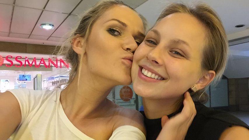 Models Sara Kulka und Kasia Lenhardt