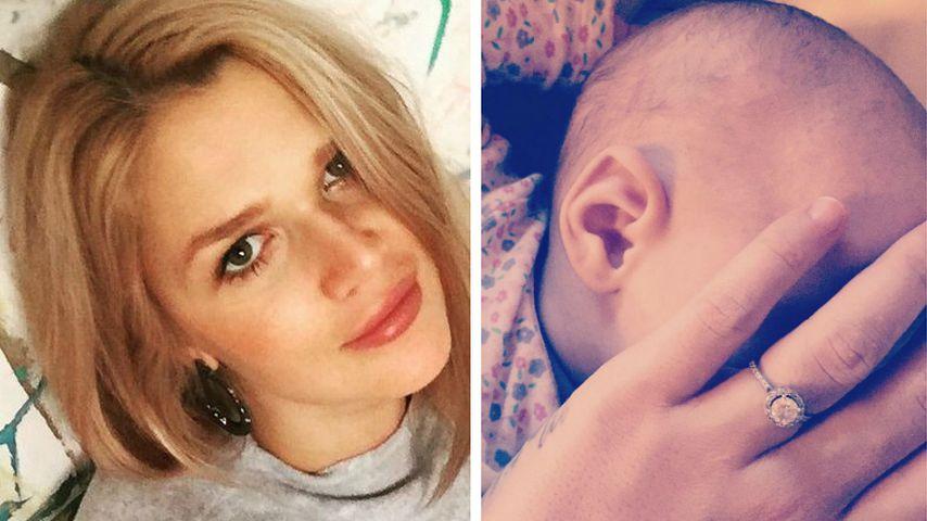 Hände weg! Fremde dürfen Sara Kulkas Baby nicht anfassen