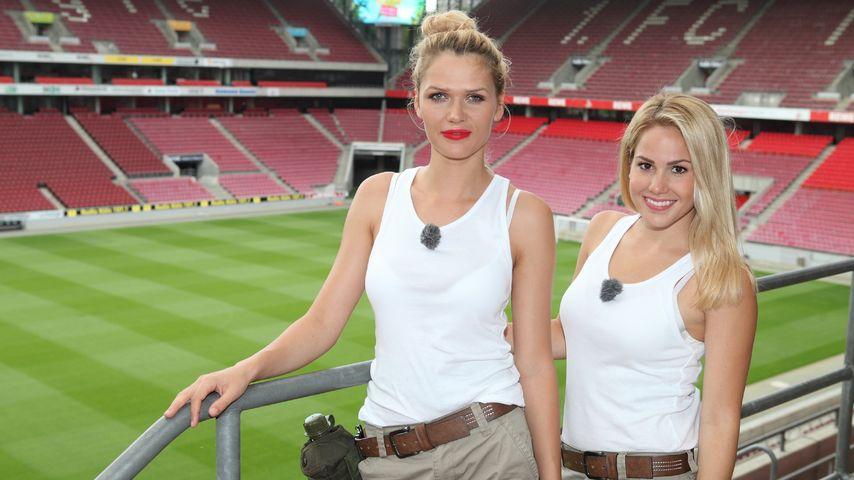Angelina Heger und Sara Kulka