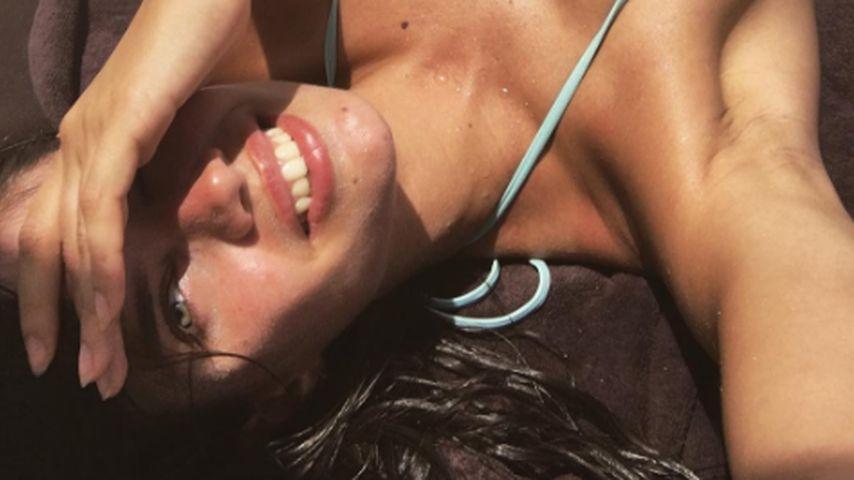 Heiße Aussichten: VS-Engel Sara Sampaio beim sexy Sonnenbad