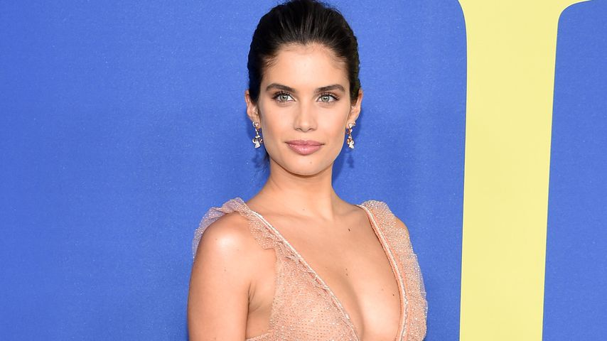 Rrrrr! Burger-Beauty Sara Sampaio wird Dessous-Engel