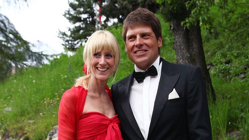 Sara und Jan Ullrich in St. Moritz, 2009