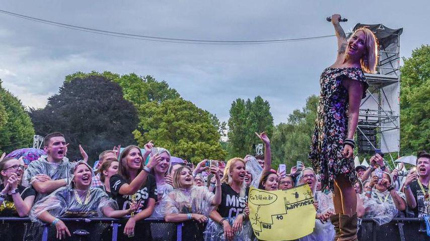 6 Monate nach Geburt: Sarah Connor zeigt sich sexy auf Bühne