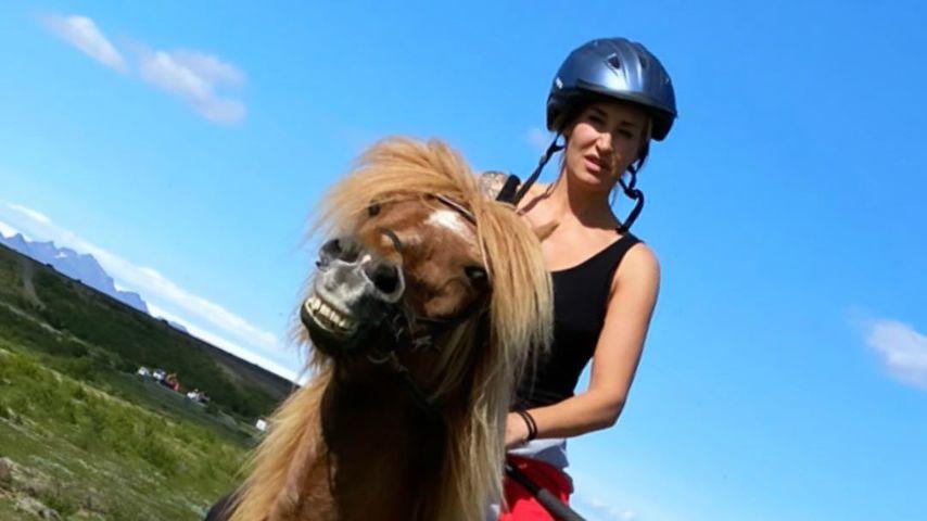 Sarah Connor im Island-Urlaub
