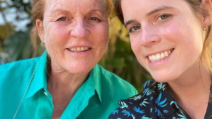 Sarah Ferguson und ihre Tochter Prinzessin Eugenie