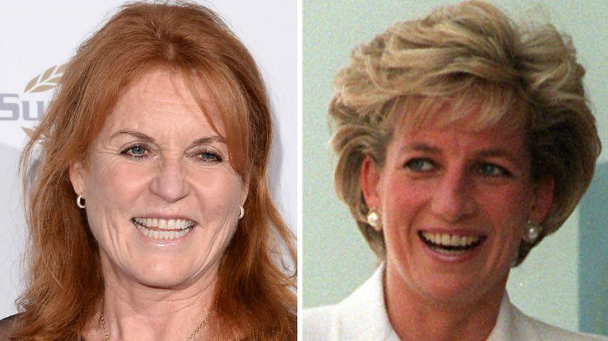 Gewusst? Fergie und Lady Di prankten den Buckingham Palace!