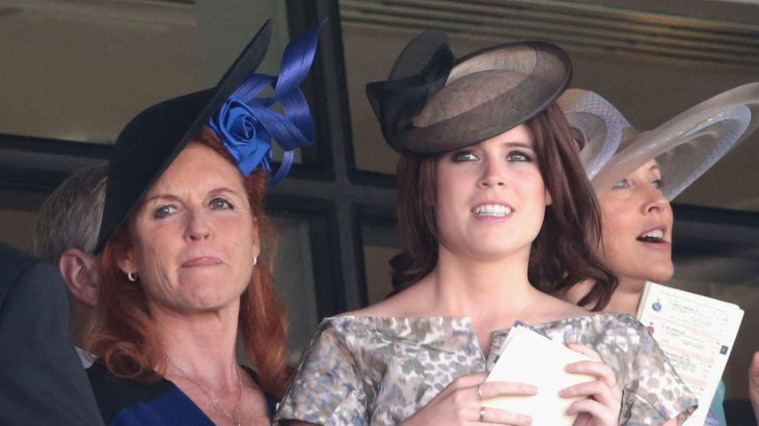 Sarah Ferguson und Prinzessin Eugenie im Juni 2015