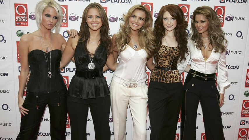 Girls Aloud bei den Q-Awards in London im Oktober 2006