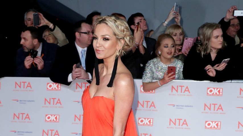 Sarah Harding bei den National Television Awards 2018