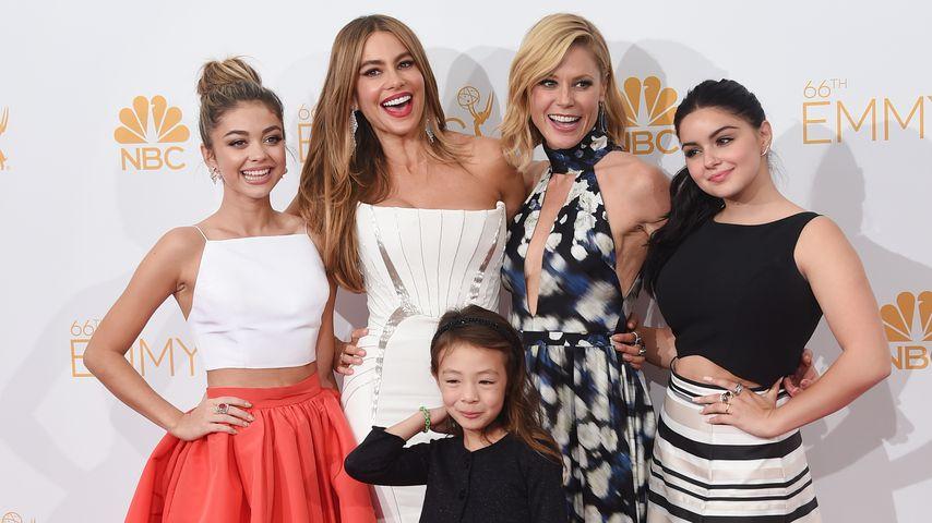 Sarah Hyland, Sofía Vergara, Aubrey Anderson-Emmons, Julie Bowen und Ariel Winter, Emmy Awards 2014