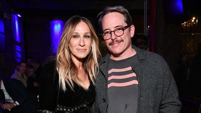 Sarah Jessica Parker mit ihrem Mann Matthew Broderick, April 2018