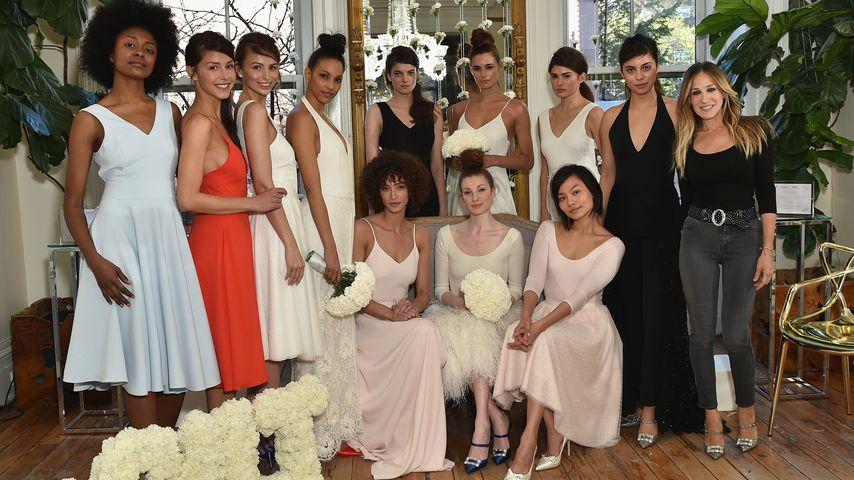 Sarah Jessica Parker bei der Vorstellung ihrer Brautkollektion mit Gilt