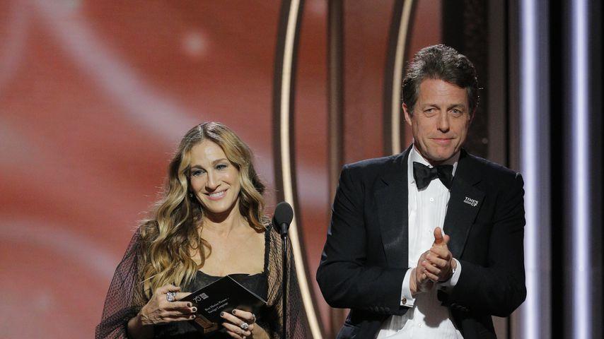 Sarah Jessica Parker und Hugh Grant bei den Golden Globes 2018