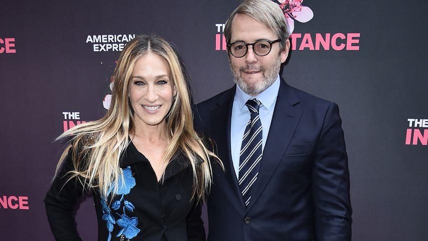 Sarah Jessica Parker und ihr Ehemann Matthew Broderick