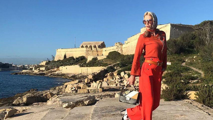 Sarah Kern auf Malta, März 2020