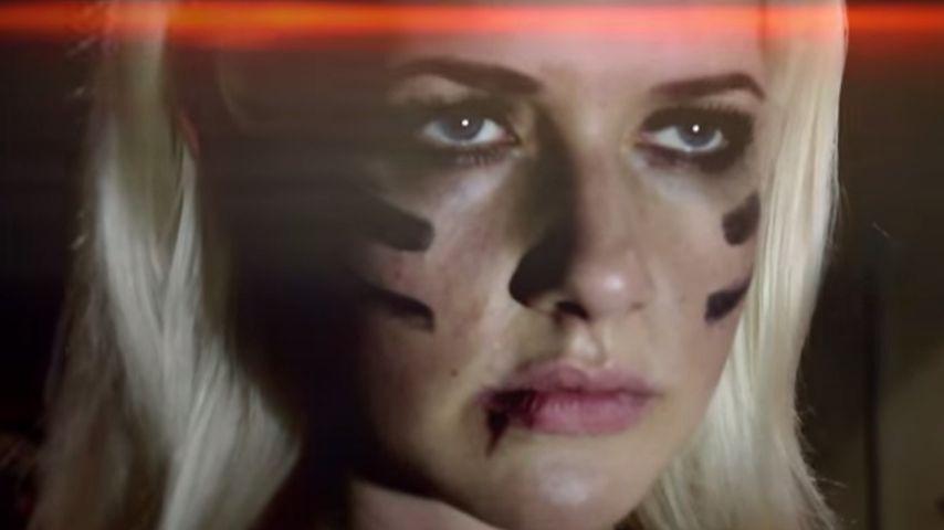 Dschungel-Dramatik: Sarah Knappik dreht düsteren Kurzfilm
