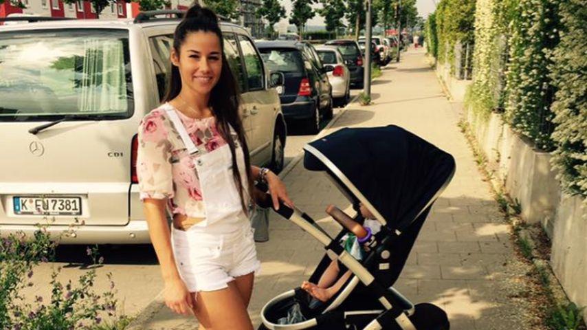 Sarah & Alessio Lombardi: Sonniger Mama-Sohn-Spaziergang!