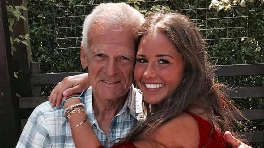 Sarah Lombardi mit ihrem Opa