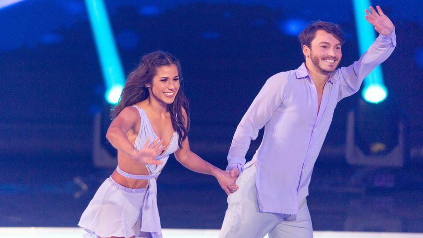 """Hammer-Auftakt: Sarah Lombardi schon """"Dancing on Ice""""-Queen?"""