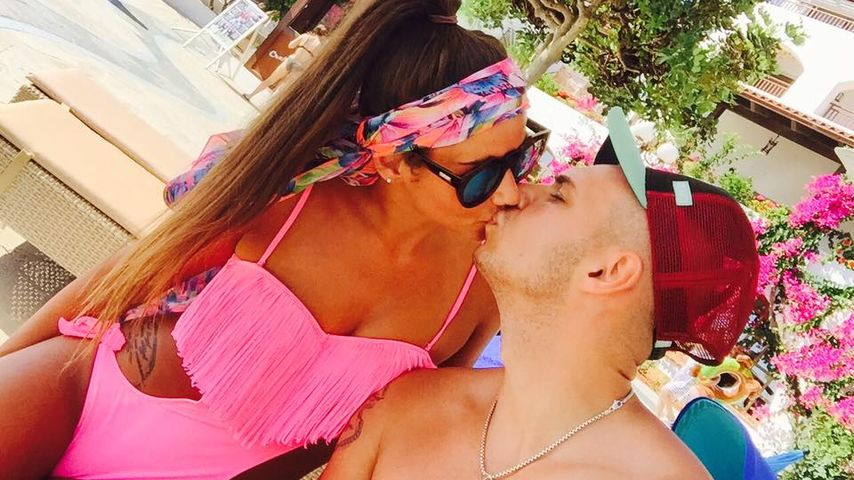 Sarah Lombardi und Pietro Lombardi auf Kreta