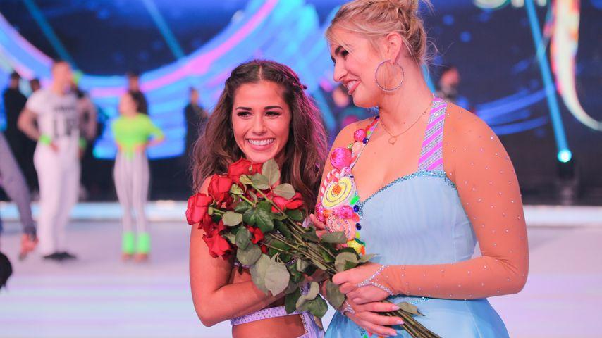 "Sarah Lombardi und Sarina Nowak bei ""Dancing on Ice"""