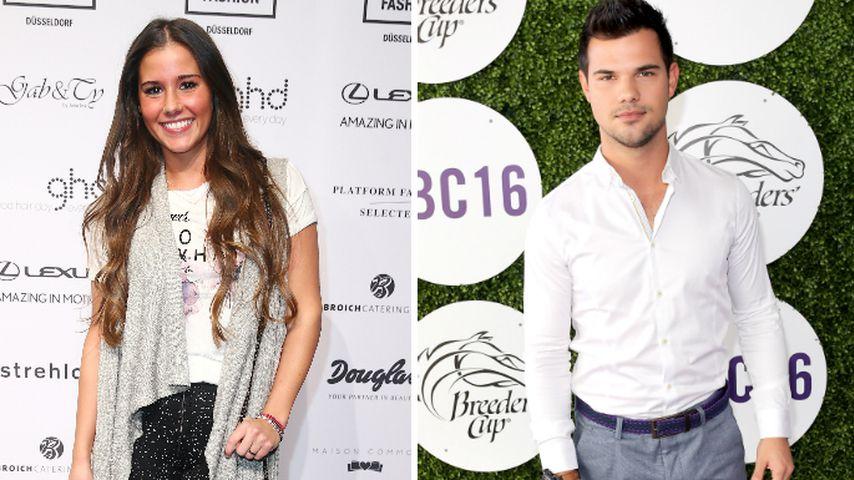 Rot vor Scham: Sarah Lombardi schwärmt von Taylor Lautner!