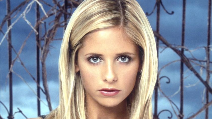 "Sarah Michelle Gellar in ""Buffy – Im Bann der Dämonen"""